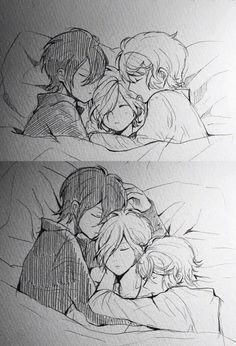 Diabolik Lovers (More Blood)- Reiji, Subaru, and Shu #Anime #Game #Otome