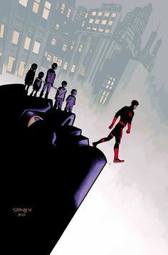 Daredevil #9 by Chris Samnee *