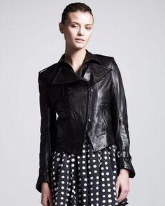 Kelly Wearstler  Triton Leather Jacket