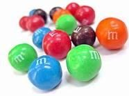M&M Mouthrs   Have everyone sit in a circle and place a big bowl of M&M's in the middle. The first person, WITHOUT LOOKING, reaches in and pulls out two M&M's. If the colors match they can eat them, if they do not they have to put them in their mouth and hold them their until their turn comes around again. They will have another chance to choose matching candies.  Every player continues to play in this manner, making sure not to chew or swallow any of their candy until they draw matches.