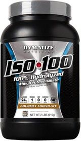 Dymatize ISO-100. I am currently using this product for my comp prep as well as the Muscle Gauge Nutrition Pure whey Isolate. For the ISO 100 get the Gourmet Chocolate flavour, it tastes so good and it mixes very well.