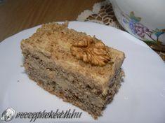 Eszkimó szelet Hungarian Desserts, Hungarian Recipes, Banana Bread, Pie, Sweets, Food, Muffin, Cakes, Baking