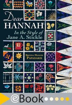 eBook Dear Hannah: In The Style Of Jane Stickle