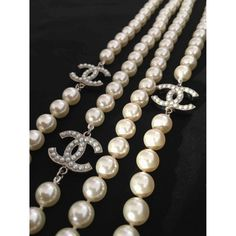 CHANEL Pearls long necklace Chanel Pearls, Chanel Jewelry, Coco Chanel, Jewellery, 60th Birthday Presents, Long Pearl Necklaces, Jewelry Patterns, 4 Life, Pearl White