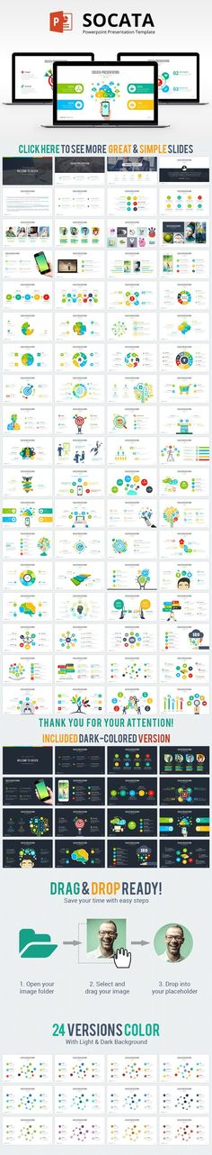Socata Powerpoint Template. Business Infographic