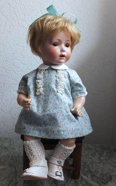 Robe Pour Grande Poupée Ancienne Allemande Française Dress For Antique Doll Choice Materials Dolls & Bears