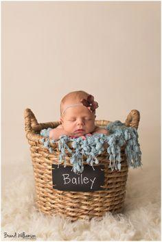 Photography, newborn baby girl