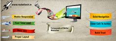 Our team of developer make your website user friendly for better interaction and statisfaction .