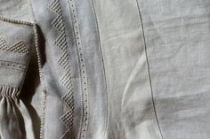 norsk bunad shirt detail