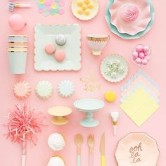 Tea Party 101. See everything you need for a pink and perfect tea party on ohhappyday.com.    #Regram via @ohhappyday