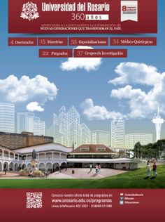 Aviso Universidad del Rosario, Medio Semana