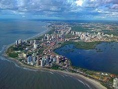 São Luis, capital do Maranhao - Brasil