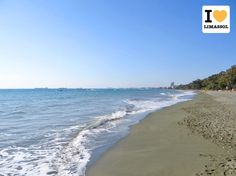 #Limassol Dasoudi beach. Amazing colors at lunchtime. #Cyprus.