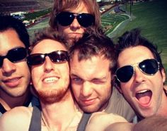 The 5 weirdos that I love so much.