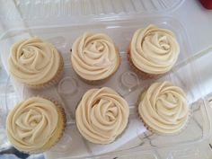 Vanilla Carmel cupcakes I made