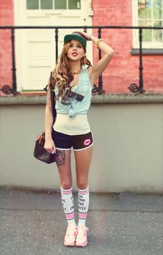 Cute Summer Outfits : Grunge Summer Outfits 1 1