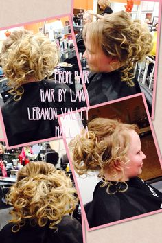 Updo waterfall braid ponytail curls volume hair by lana hair prom 2014 updo extensions added to make hair more full and curled and pinned hair by pmusecretfo Image collections