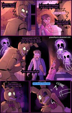 Springtrap and Deliah (Page 79) by GraWolfQuinn