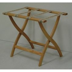 Wooden Mallet Deluxe Luggage Rack