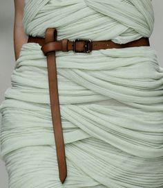 Teal/Brown belt