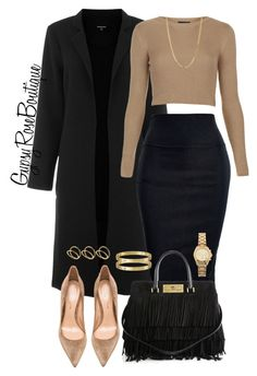 """#668"" by gypsyroseboutique on Polyvore featuring Warehouse, Topshop, Yves Saint Laurent, Gianvito Rossi, Cartier, ASOS, Michael Kors and Bianca Pratt"