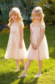 Find your dream flower girl dresses in the Papilio Boutique. #flowergirl #kids #kidsfashion