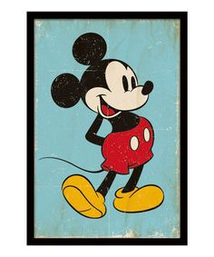 Take a look at this Mickey Mouse by PYRAMID INTERNATIONAL on #zulily today!