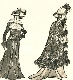 1901 Fashions from Women's Home Companion