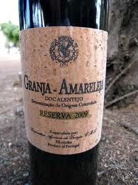 Impression of Granja Amareleja a protected Portuguese wine from Mourão in the Alentejo region.