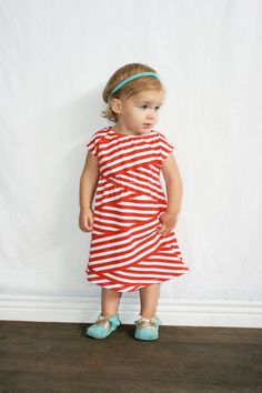 Little stripes // can I say I want her dress?!