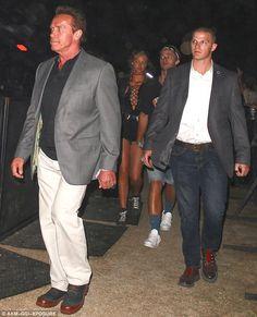 Arnold Schwarzenegger at Coachella