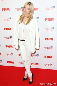 Laura Whitmore at The FHM Sexiest Women Awards 2013 held at the Sanderson Hotel in London, England - May 1, 2013
