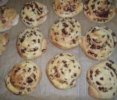 Rezept Puddingschnecken mit Frischkäse und Schokolade von Wolkenmaus - Rezept der Kategorie Backen süß
