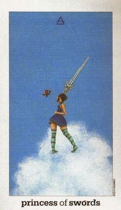 Kinh nghiệm Lá Princess of Swords - Sun and Moon Tarot bài tarot Xem thêm tại http://tarot.vn/la-princess-of-swords-sun-and-moon-tarot/