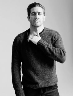 Jake Gyllenhaal . By Brigette Lancombe. for Elle China
