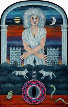 The Moon - Jungian Tarot