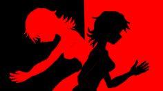 Rana e Hitomi - opostas - imagem proposta para abertura.