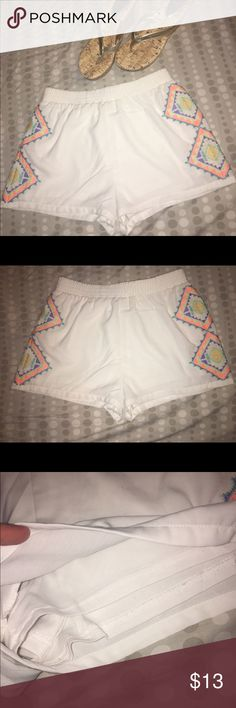 Lulumari shorts 💕 Size Medium Excellent Condition. Double layer so there are NOT see through. Super comfy😃 only selling because I no longer fit in them. Only got to wear a few times. lulumari Shorts