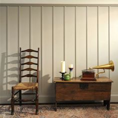 Edwardian tall wall panelling from Painted Wall Panelling co.