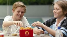 Does anyone know the name of this song? (Australia) #McDonalds #food #fastfood #delicious #eating #happymeal
