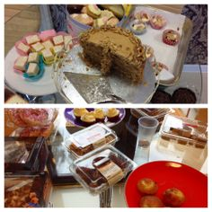 Last Friday of the month = Cake Day - Dress Down Friday! Indulging in some yummy cakes & raising money for the Trailwalker Challenge for Oxfam GB! #trailwalker #oxfam #fundraising #dressdownfriday