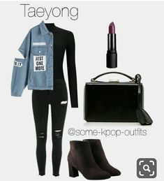 ~Kpop Outfits~ — Trip to the City with NCT 127 {autumn inspired}.You can find Kpop outfits and more on our website.~Kpop Outfits~ — Trip to the City with NCT 127 {. Korean Fashion Kpop Inspired Outfits, Bts Inspired Outfits, Kpop Fashion Outfits, Korean Outfits Kpop, Classy Outfits, Trendy Outfits, Fall Outfits, Summer Outfits, Bts Mode