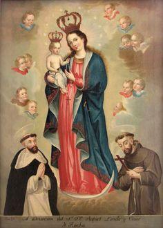Nuestra Señora del Rosario, autor José (mulato) Gil de Castro.  (Lima, Perú, 1 de septiembre de 1785 - 1841), fue un destacado pintor peruano, considerado un artista de transición, entre la Colonia y la República.