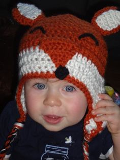What baby (or adult for that matter) wouldn't look adorable in this hat? I am a sucker for animal hats, I've made several owl hats for friends of all ages, and as far as I …