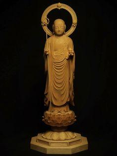 地蔵菩薩 (仏師 辻 高明) *✖️ Buddha More Pins Like This At #FOSTERGINGER @ Pinterest