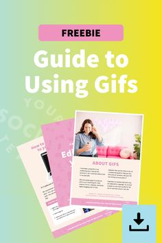 How to I download GIFs from Giphy? Why are my GIFs static? How do I use GIF in my Canva designs? Get all your answers with our guide! Instagram Ideas, Instagram Story, Selling On Instagram, Free Tips, How Do I Get, Marketing Materials, Booklet, Gifs, Instant Access