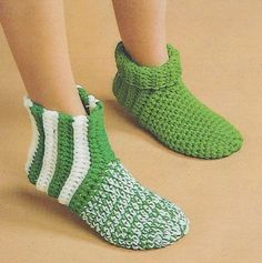 Free Crochet Sock Patterns | ... receive via Mail...The instructions to CROCHET These Slipper/Socks