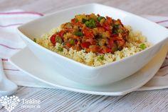 Pšenoto zo zeleninového ratatouille - Powered by @ultimaterecipe