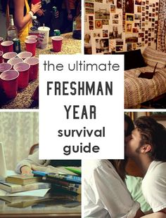 The Ultimate Freshman Year Survival Guide This is an awesome list that covers everything you need to know about freshman year! From roommates, to parties, to academics, and more – this ultimate freshman year survival guide has all the information you need College Freshman Tips, College Life Hacks, College Years, College Dorm Rooms, Dorm Life, College Roommate, School Hacks, Diy Dorm Room, Best College Dorms