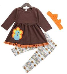 a491c383f78a Turkey Outfit Girl s Boutique Clothing  www.bonanza.com booths LoLos Closet Co